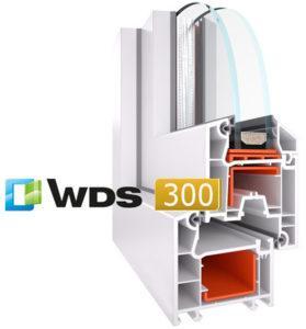 ПВХ профиль wds 300
